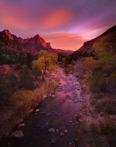 Zion National Park - The Watchmen