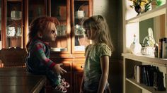Curse Of Chucky ( i really need to see this movie. looks so fucking good) Horror Movie Characters, Horror Films, Childs Play Chucky, Fright Night, Scary Movies, A Good Man, Movies To Watch, Kids Playing, Movies And Tv Shows