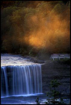 Tahquamenon Falls, Michigan, by Jim Emery