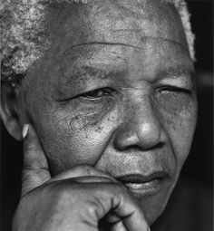Nelson Mandela by Herb Ritts (© Herb Ritts Foundation)