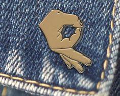 BUY 1, GET 1 Random Pin! Circle Game Meme Enamel Pin Ballgazer Meme Lapel Pin Gotcha Hat Pin A OK Flair