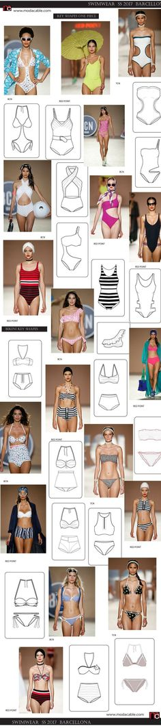 b6633e5bd16 SS #2017 #swimwear trends from Barcellona only at www.modacable.com.