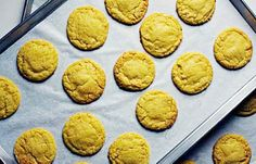 These are like crack. Christina Tosi's Corn Cookies from Momofuku Milk Bar    Cookbook Review & Recipe from Momofuku Milk Bar by Christina Tosi