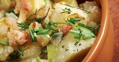Slow Cooker German Potato Salad - Delicious BLEND of FLAVOR!  www.GetCrocked.com