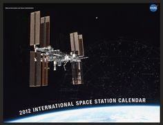 Free NASA 2012 Space Station Calendar