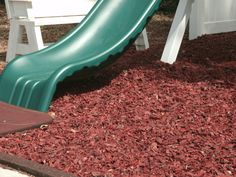 Rubber Mulch and Playground Rubber Mulch in 7 Colors direct from the Manufacturer. Rubber mulch installation tips, how to videos, and mulch comparisons. Playground Rubber Mulch, Wood Mulch, Engineered Wood, Recycling, Backyard, Cleaning, Classroom, Outdoors, Landscape