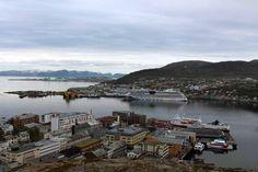 Einmal Spitzbergen und zurück | AIDA Luna im Hafen von Hammerfest (c) Frank Koebsch