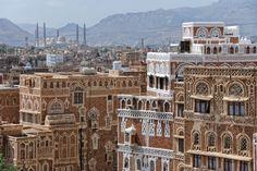 Esta es Saná, la capital de arquitectura más inusual que puedas conocer (en Yemen)