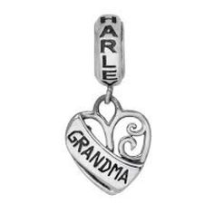 OUT-OF-STOCKHarley-Davidson--MOD-Sterling-Silver-Grandma-Ride-Bead-Pandora-Style-Charm