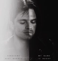 """In Civil War when he said """"My name is Bucky."""" it just...ow. DX"""