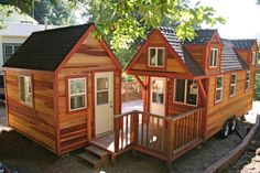 Tiny House on Wheels with a Studio Shed and Connecting Porch | Tiny House Pins