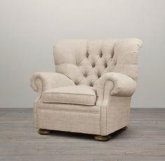 Churchill Upholstered Chair   Sofas   Restoration Hardware