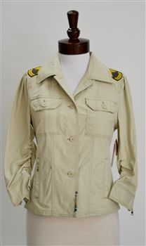 Juicy Couture  Skyler Twill Military Jacket