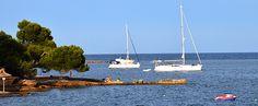 Mallorca Alcanada boats sea Майорка Альканада море лодки
