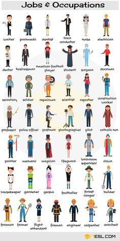 Education Discover Jobs And Occupations Vocabulary List Of Jobs In English Learn English Words English Vocabulary Words English Verbs Learn English Grammar Kids English English Language Learning English Writing English Study English Lessons Learning English For Kids, English Lessons For Kids, Kids English, English Language Learning, English Study, English English, Teaching English, Education English, English Class