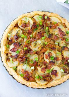 The Best Irish Potato Pie Recipe #saintpaddysday
