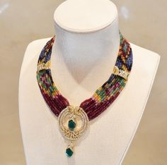 collier marocain homme