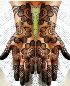 Modern Henna Designs, Indian Henna Designs, Mehndi Designs Book, Henna Designs Arm, Mehndi Designs For Girls, Mehndi Designs For Beginners, Stylish Mehndi Designs, Dulhan Mehndi Designs, Mehndi Design Photos