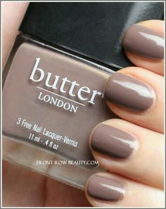 Butter London 'Fash Pack'....a gorgeous neutral cruelty-free dupe for Chanel's Particuliere.