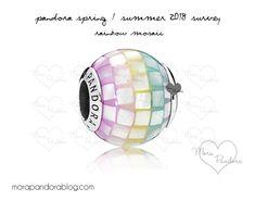 Pandora Spring/Summer 2018 Collection ~ Rainbow Mosaic