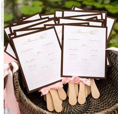 wedding ceremony program ideas...