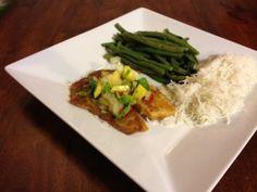 Cajun Tilapia with Mango Salsa Recipe ~  Perfect meal for dinner & a movie!