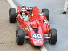 Parnelli Jones' STP turbine Indy car 1967