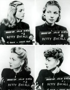 Lauren Bacall amazing why a difference a hairstyle can make