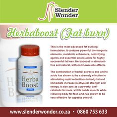Slender Wonder, Hcg Recipes, Herbal Extracts, Amino Acids, Side Effects, Metabolism, Fat Burning, Herbalism, Personal Care