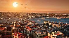 #wallpaper #istanbul #şehir #city #myistanbul #sun #sea #sky #güneş #gökyüzü #deniz