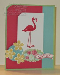 stampin up flamingo lingo - Google Search