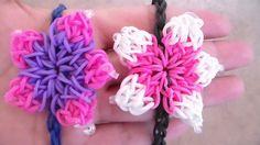 PULSERA ELASTICA EN FLOR DE HIBISCO // Flower Bracelet/Charm