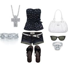 Summer, created by trinaessary on Polyvore