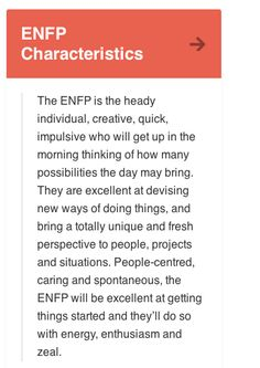 The biggest problem with being a enfp, is the loving starting new things, huge inability to enjoy finishing them!