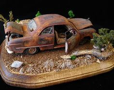 Nice weathering on this car model