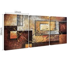 Phoenix Decor-Abstract Canvas Wall Art Paintings on Canvas for Wall Decoration Modern Painting Wall Decor Stretched and Framed Ready to Hang 3 Piece Canvas Art Phoenix Decor 3 Piece Canvas Art, Abstract Canvas Wall Art, Canvas Wall Decor, Frame Wall Decor, Frames On Wall, Framed Wall Art, Framed Canvas, Canvas Prints, 3 Panel Wall Art