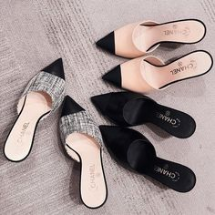 These footwear are elegant, comfy, and the addition that is perfect any ensemble! Cute and trendy shoes for female on our online store! Trendy Shoes, Cute Shoes, Me Too Shoes, Shoe Boots, Shoes Heels, Chanel Shoes, Dream Shoes, Types Of Shoes, Shoe Collection