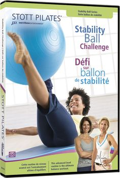 STOTT PILATES Stability Ball Challenge (English/French) -- You can get additional details at the image link. (This is an affiliate link) Hiit, Stability Ball, Keto, Weight Loss Workout Plan, Weight Training, Weight Lifting, Belly Fat Workout, Fat Burning Workout, Intense Workout