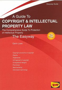 "https://flic.kr/p/tcyt7K | A guide to copyright and intellectual property law : [the comprehensive guide to protection of intellectual property / Calvin Lowe, 2015 | <a href=""http://encore.fama.us.es/iii/encore/record/C__Rb2659798?lang=spi"" rel=""nofollow"">encore.fama.us.es/iii/encore/record/C__Rb2659798?lang=spi</a> B 408957"