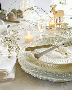 Christmas/Winter Tablescape