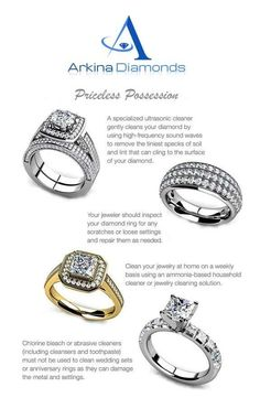 How to make your diamond ring sparkle diy ideas by becky mansfield cleaning tips for diamond rings they represent your love and your marriage keep them sparkling clean solutioingenieria Images