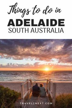 Things to do in Adelaide, South Australia. The capital of this southern state is a small but artsy city with parks, churches and lovely beaches. Australia Travel Guide, Australia Beach, Visit Australia, Australia Winter, Australia Holidays, Australia Funny, Backpacking Europe, Backpacking South America, Travel