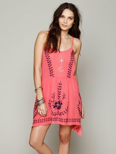 Free People Meadows Medallion Slip at Free People Clothing Boutique