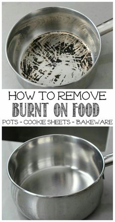 How to Remove Burnt Food from Pots – CatKiwi