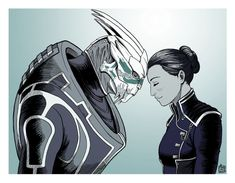 Theres no Shepard without Vakarian by ART-RevolveR on DeviantArt