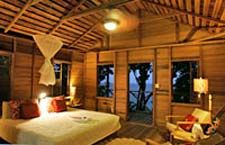 Check out this Natural Wood Cottage at the Jungle Bay Resort & Spa on the lush island of Dominica