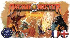 Arcane Master est un jeu de société familial dans lequel chaque participant incarne un mage en quête de Prestige.