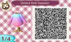 http://mayorkitcrossing.tumblr.com/post/110080885582/oceana-and-cotton-candy-ombre-knit-sweaters