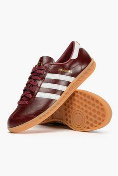 new style 5ce6b 2f6de adidas Originals Hamburg  Made in Germany   Burgundy Ropa Deportiva,  Calzado Deportivo,