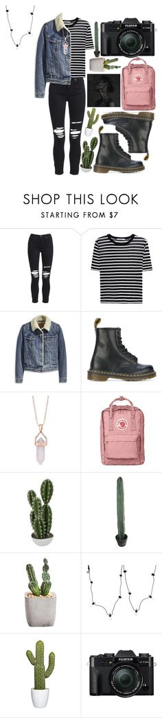 """another outfit for a friend"" by bramjw ❤ liked on Polyvore featuring AMIRI, T By Alexander Wang, Levi's, Dr. Martens, Belk Silverworks, Abigail Ahern, Sirius and Fuji"